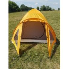 Палатка 3 места Adventuridge НОВАЯ!! Желтая!!!№ 29