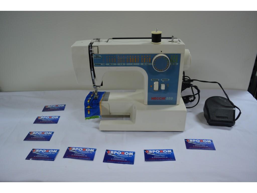 Швейная машинка necchi 559 инструкция
